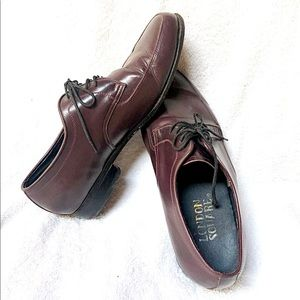 LONDON SQUARE- Leather Red Brown Shoes